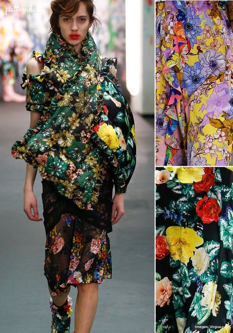 Preen – Fall 2017 – RTW – London Fashion Week – Print & Pattern Highlight