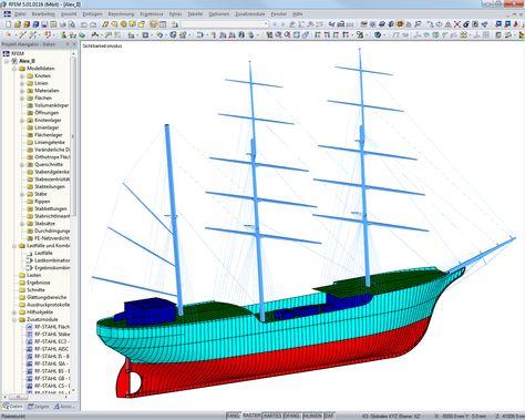 "Realisiert mit Dlubal-Software: Neubau Segelschiff ""Alexander von Humboldt II""   www.dlubal.de   #bim #cad #dlubal #dynamik #eurocode #fem #rfem #rstab #rxholz #statik #statiksoftware #tragwerksplanung"