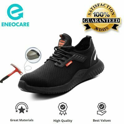 Mens Safety Work Shoes Steel Toe Indestructible Outdoor Cushioned Sneakers In 2020 Work Shoes Steel Toe Shoes Steel Toe