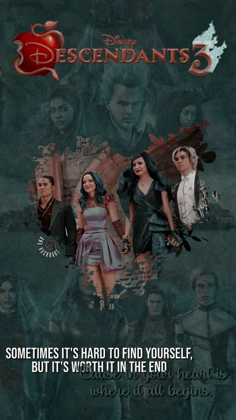 Wallpaper Descendants 3