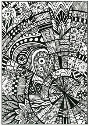 Drawing Ideas Doodles Zentangle Patterns Zen Tangles 32 Ideas