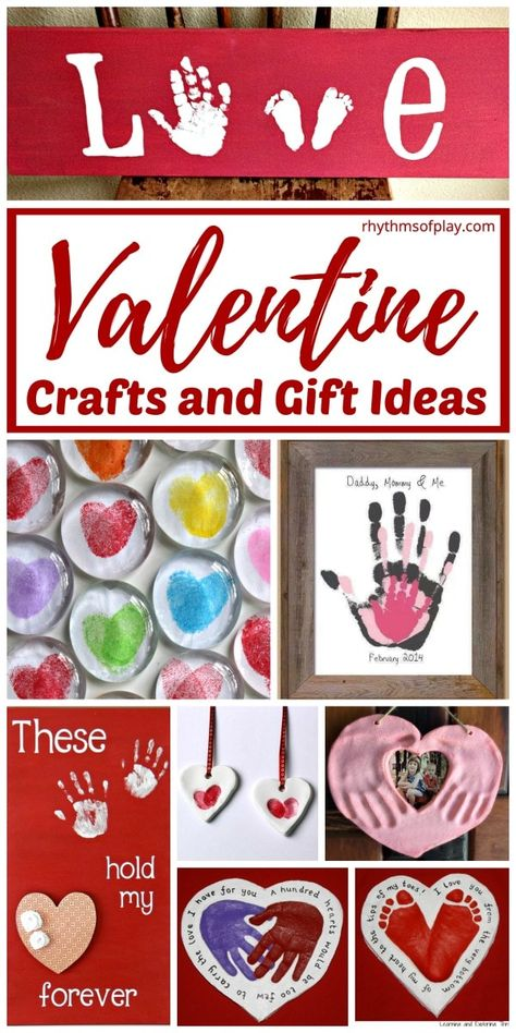 Valentine's Day Crafts and Homemade Gift Ideas | Rhythms of Play