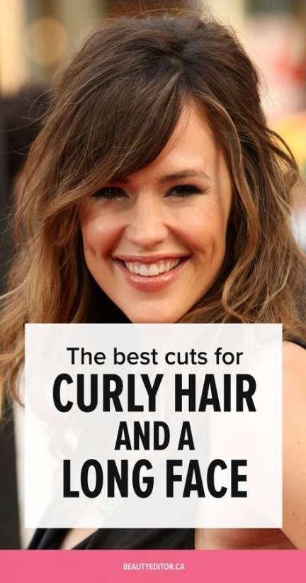 Hair Long Face Curly 41 Trendy Ideas Long Face Hairstyles Oblong Face Haircuts Curly Hair Styles