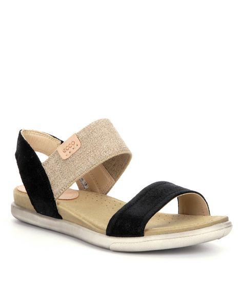 e9e96880d1e7 ECCO Damara Womens Suede Sandals  Dillards