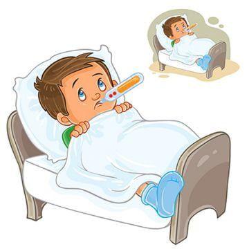 Vector Enfermo Nino Yace En La Cama Con Un Termometro Clipart Enfermo Fiebre Joven Png Y Vector Para Descargar Gratis Pngtree Ninos Enfermos Imagenes De Enfermita Enfermos