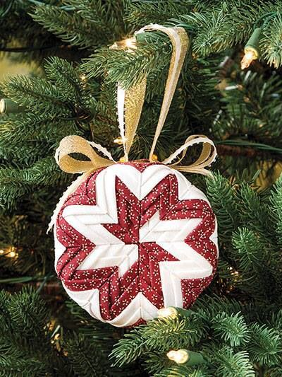 How to make a No-Sew ornament and free ornament patterns | Holidays ...