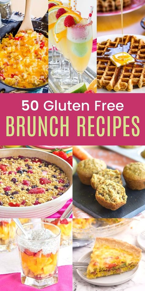 50 of the Best Gluten-Free Easter Brunch Recipes for Easter and More Spring Holidays #Glutenfree #Easter #Brunch #Spring #Easterrecipes