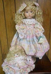 24 inch Porcelain Doll by Linda's Ricks The Doll Maker   eBay