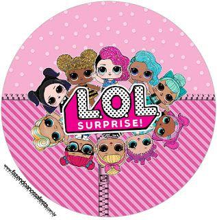 image regarding Free Printable Cupcake Wrappers named LOL Wonder No cost Printable Cupcake Wrapper and Toppers