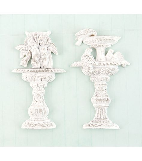 Prima Shabby Chic Treasures Resin Embellishments-rabbits 6//pkg