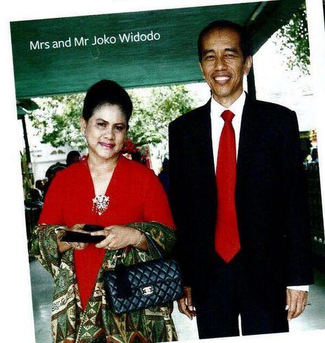 Iriana Jokowi   traditional kebaya