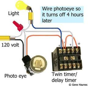 How To Wire Off Delay Timer Timer Wire Electrical Panel