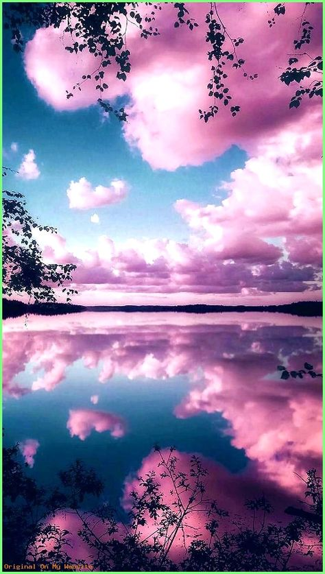 Wallpaper SKY: Download Reflecting pink sky Wallpaper by Goodfellagrl - 0d - Free on ZEDGE™ n...  #skystarswallpaper4k #skywallpapertumblrpink #wallpaperblueskystars #wallpapercloudysky