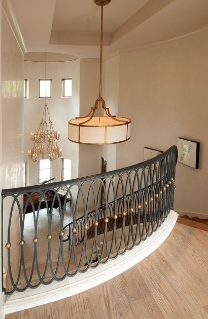 Stunning Staircase Railing Design Wrought Iron Metal Handrails For Stairs M33 Staircase Railing Design Iron Stair Railing Wrought Iron Stair Railing