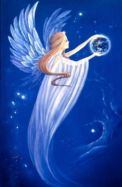 Earth Angel ............Francine Barbet