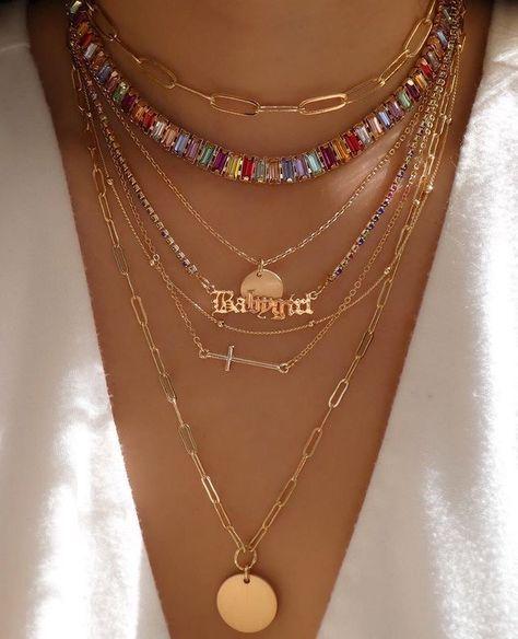 Nail Jewelry, Cute Jewelry, Gold Jewelry, Jewelry Accessories, Gold Necklaces, Jewlery, Trendy Jewelry, Hippie Jewelry, Summer Jewelry