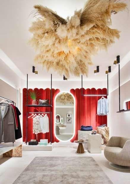 Clothes Store Interior Boutiques Lighting 42 Ideas Store Design Boutique Store Design Interior Clothing Store Interior