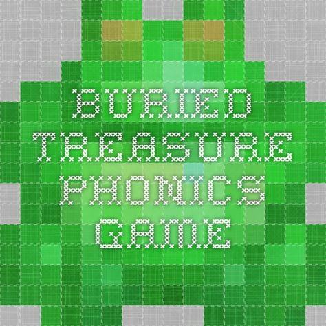Buried Treasure phonics game-- great for blending practice