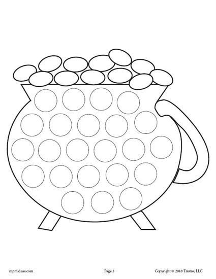 Heart Dot Painting Coloring Page Twisty Noodle Heart Coloring