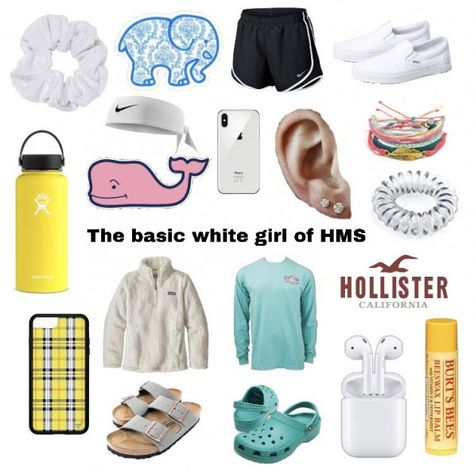 Quite accurate The Basic White Girl of Holmen Middle School #middleschool #middle #school #starter #pack
