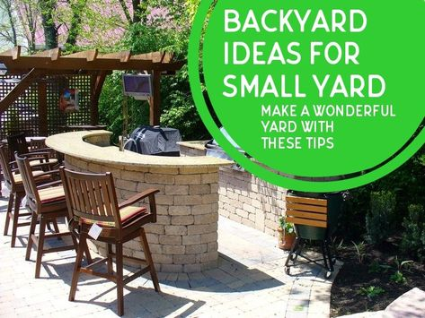 Techniques On How To Design Backyard Ideas For Small Yard Check This Useful Article By Going T In 2020 Backyard Ideas For Small Yards Backyard Garden Cheap Backyard