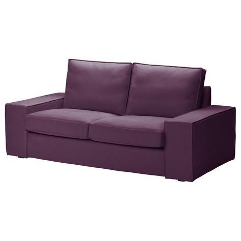 Prime Ikea Kivik Loveseat Slipcover Cover 2 Seat Sofa Dansbo Lilac Bralicious Painted Fabric Chair Ideas Braliciousco