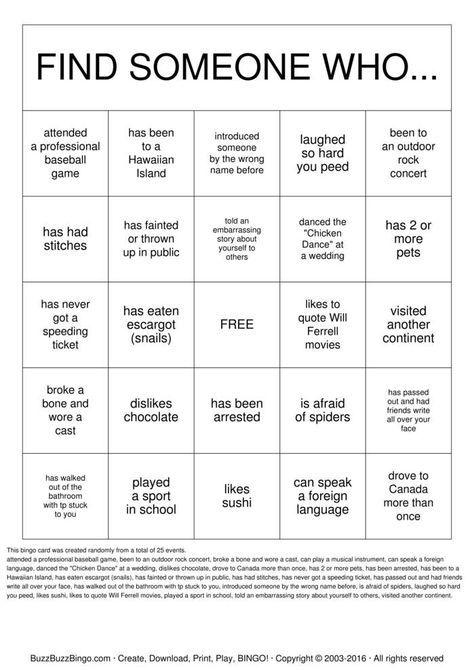 People Bingo Rules Cards Icebreaker Ideas Group Ice Breaker Games People Bingo Ice Breaker Bingo