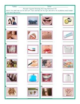 Personal Hygiene Grooming Matching Worksheet 1 Esl Fun Games Fun Try Out Our Personal Hygiene Grooming Matching W Personal Hygiene Hygiene Matching Worksheets Good grooming worksheets for kindergarten