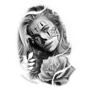 Desenhos Para Tatuagens Realistas Chicano Tattoos Chicano