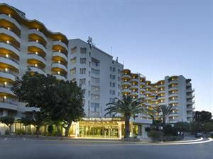 Spanje Ibiza Cala Gracio Algemene Beschrijving Fiesta Tanit Hotel Ligt Op 50 M Van Een Zandstrand De Dichtstbijzijnde Stad Vanuit Het Vakantie Ibiza Spanje