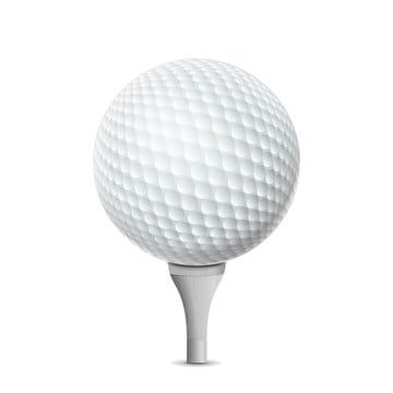 Golf Ball On White Tee Vector Realistic Illustration Isolated Golf Ball Grass Png And Vector With Transparent Background For Free Download Prints For Sale Golf Ball Nature Vector