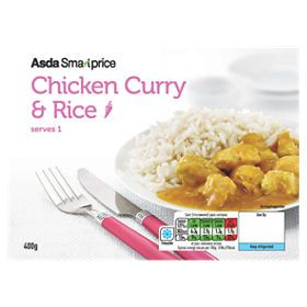 Asda Smart Price Chicken Curry Rice Asda Groceries Curry