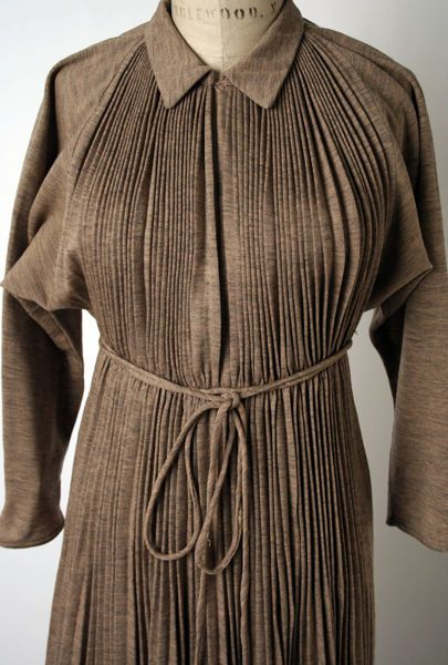 Monastic Dress Claire Mccardell American 1905 1958 Wool American Claire Mccardell Clothes Vintage Fashion