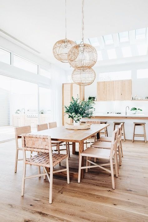 Pin By Carlee Brown On Dream House Scandinavian Dining Room Minimalist Dining Room Kitchen Table Lighting