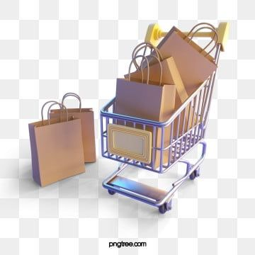Shopping Cart Shopping Bag 3d Element Shopping Cart Clipart Shopping Bag Packing Png Transparent Clipart Image And Psd File For Free Download Shopping Cart Shopping Cart Logo Shopping Bag