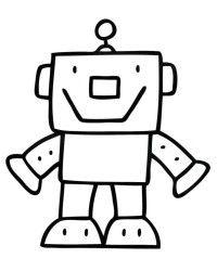 Kostenlose Malvorlagen Von Roboter Ausmalbilder Gratis