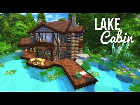 The Sims 4 Base Game Family House Speed Build Youtube Sims 4 House Building Sims 4 House Plans Sims 4 House Design