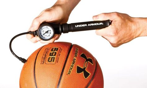 Soccer Football Volleyball and Sport Ball Inflation Cyclone Sports Dual Action Hand Ball Pump for Inflatables with Needle for Basketball