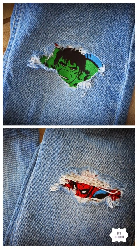 How to Mend Jean Holes in Cutest Way