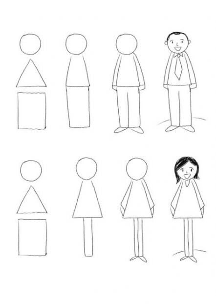 20 Ideas For Drawing For Kids Figure Easy Drawings Easy Drawings For Kids Stick Figures