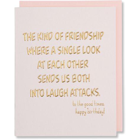 Birthday Card Best Friend Quote