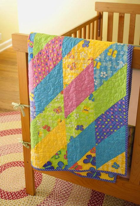 Twisted Triangles | AllPeopleQuilt.com