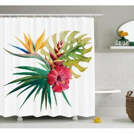 Home In 2020 Floral Shower Curtains Shower Curtain Hooks Curtains