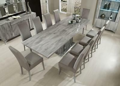 28++ 8 seater dining table and chairs grey Top