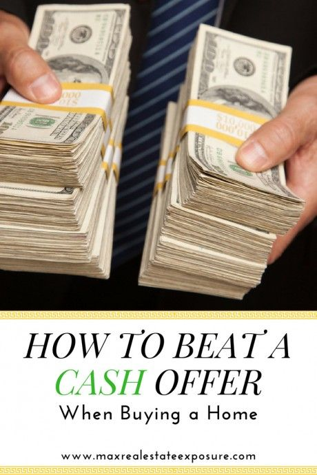 How to Beat a Cash Real Estate Offer For The Perfect House