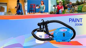 Paint Zoom Power Spraying Machine Saves Time And Money In 2020 Diy House Paint