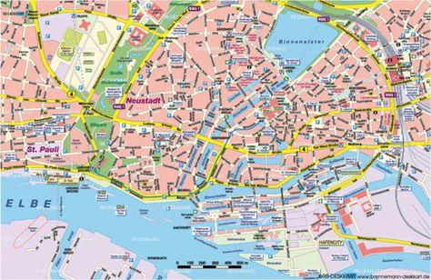 Hamburg Germany Google Search Germany Map Map Hamburg