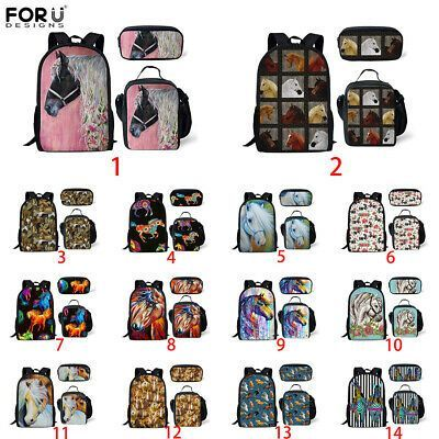 Small Horse Animal Bag Round Shoulder Bag Women Handbag Kids Backpack Sling Bags