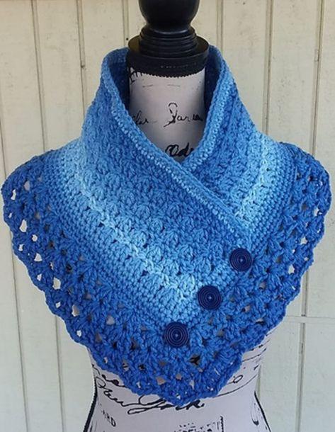 Crochet Lacey Charma Neck Warmer - CK Crafts