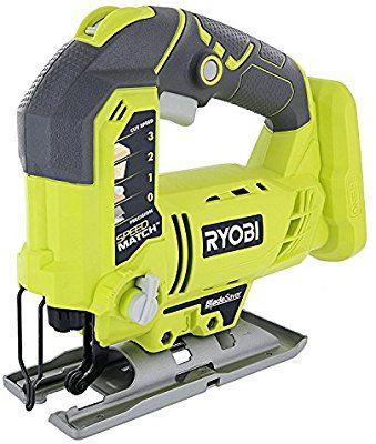 Ryobi One P523 18v Lithium Ion Cordless Orbital T Shank 3 000 Spm Jigsaw Battery Not Included Power Tool And T Shank Wo Best Jigsaw Ryobi Ryobi Power Tools